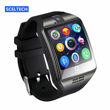 SCELTECH Bluetooth Smart Watch S18 With Camera Facebook Whatsapp Twitter Sync SMS Support SIM TF Card For IOS Android Phone