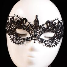 2017 Women Eye masks Lace Floral Venetian Masquerade Fancy Party Dress flower mascaras venecianas girl masque dentelle&11(China)