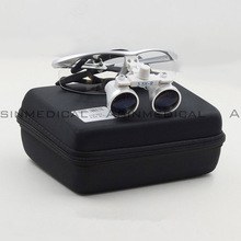 Good quality Anti-fog Dental Surgical Medical Binocular Loupes Glasses 3.5 x Magnifier(China)