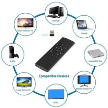 2017 Top New Fly Mouse MX9-A Air Mouse Micro Keyboard 2-in-1 2.4GHz Wireless Control with USB Receiver for Android TV Desktop(China)