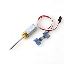 F13155 Worm Motor & Motor Controller Module for Electronic Retractable Landing Gear DIY Multicopter RC Drone(China)