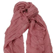 2017 New Design crinkle hijab Women Cotton Scarf Soft Wrap Shawl Scarf Long Stole Crinkle Candy Color winter cachecol mulheres