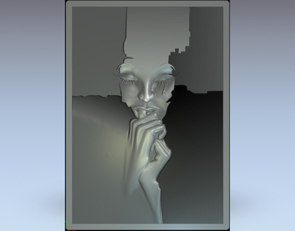 3d model relief  for cnc in STL file format face<br><br>Aliexpress