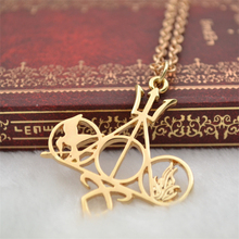 Hunger Games The Mortal Instruments City of Bones Divergent Percy Jackson movie necklace wholesale(China)