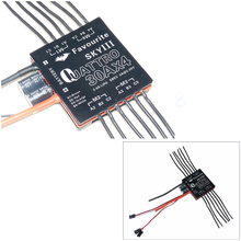 Free Shipping New 4-in-1 6A 12A 20A 30A Quattro 20A 4 UBEC 4 in 1 Brushless ESC for Four axis aircraft(China)
