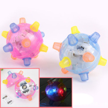 Jumping Joggle Bopper LED Light Up Bouncing Vibrating Sound Sensitive Ball Toy
