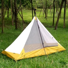 Outdoor camping single tent, pole-free, lightweight, portable camping tent