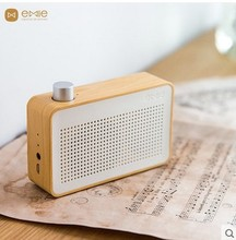 Radio wave wireless Bluetooth speaker small sound mobile phone computer portable mini wooden sound box