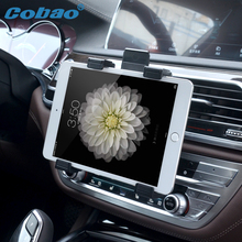 Universal 7 8 9 10 11 Tablet Car Air vent Holder Mount Stand Vent Holder For iPad 2 3 Air Tablet PC Soporte Tablet(China)