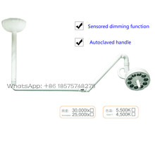 2017 new dental LED ceiling mounted lamp shadowless Led Lamp with a ceiling arm module operation light