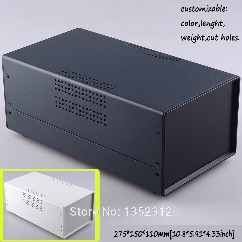 Free shipping one pcs 110*150*275mm iron enclosure electronic instrument case distribution box electronics junction enclosure<br><br>Aliexpress