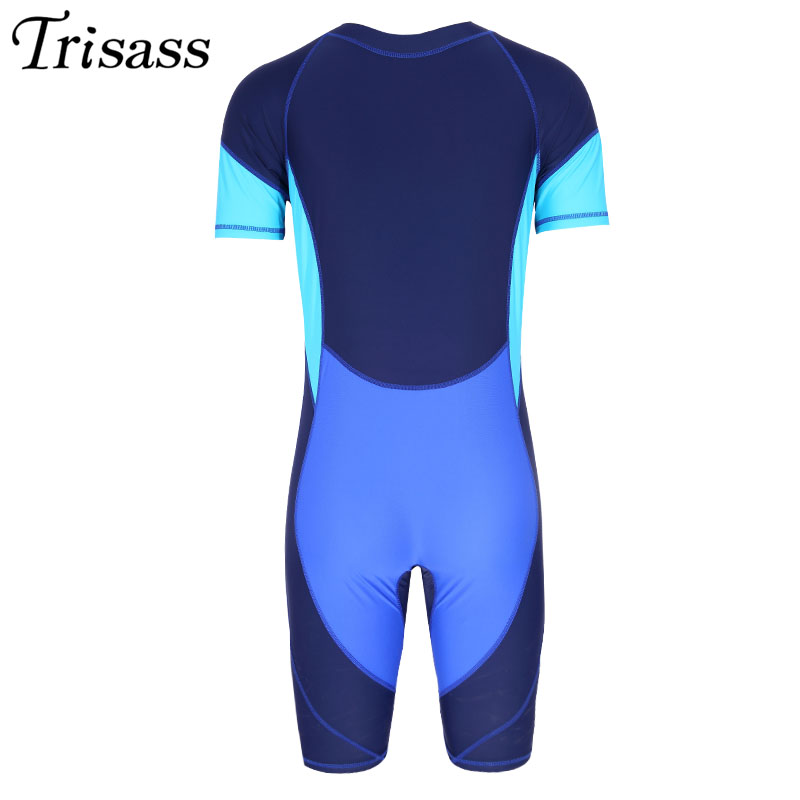 2017 New Mens Swimming Professional Swimwear One Piece Boys Sports Quick Dry Elastic Surfing Assorted Colors Bodysuit Ventilate<br>