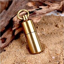 Fashion creative oiL lighter portable cute mini lighter small gift gasoline kerosen Lighter key chain Frosted metal lighter(China)