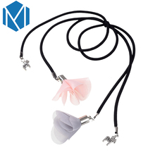 M MISM 1PC Women Flower Elastic Hair Bands Girl Ponytail Holder Scrunchy Pearl Shells Pendant with Alloy Pony Hair Accessories(China)