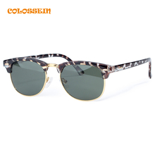 COLOSSEIN Retro Round Sunglasses 2017 Spring Classic Fashion Sunglasses Gray Colors Polarized Eyewear Sunglasses For Women