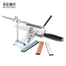 RUIXIN PRO III Knife Sharpener Professional All Iron Steel Kitchen Sharpening System Tools Fix-angle With 4 Stones Whetstone III(China)
