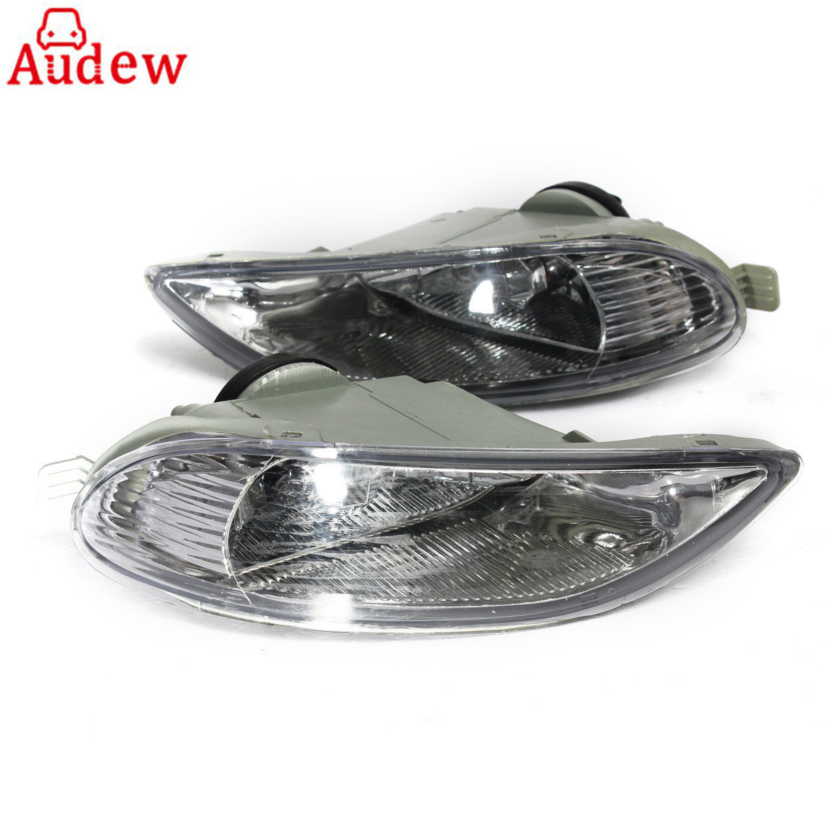 1Pair Left &amp; Right Car Bumper Fog Lights Front Lamps With Fog Light Bulbs For Toyota Corolla/Camry<br>