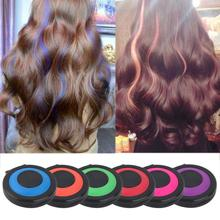 6 Colors Non-toxic Healthy Temporary Hair Styling Soft Dye Powder Easy Wash Salon Tool Fashion top quality