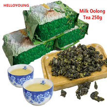 Carbon baking oolong tea Black oolong Ginseng tea High Mountains Milk oolong tea Tieguanyin Bagged Iron box Gift Pack PVC boxed