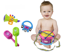 Toy Drum Baby Concert Musical Instrument Toys(China)
