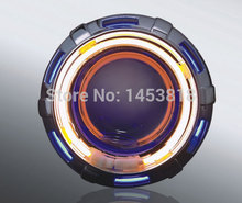 ON SALE 2inch 13B Motorcycle HID Double Ray Bi xenon Projector Lens red yellow blue green white 8000k 6000k 4300K H4 Universal