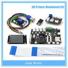 "2.8 ""touch screen Motherboard kit / ESP8266 wifi dual nozzle control module/ Power continued print Motherboard KIT044"