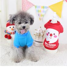 High-quality  Graceful Durable Fashion Puppy Pets Clothing Christmas New Year Decoration Dog Spring Winter Clothes Roupas De Cac