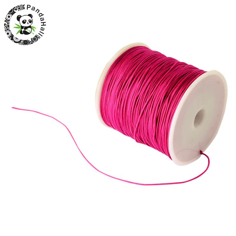0.8mm 90m/roll Nylon Thread Cord For Bracelets Beading Necklace Jewelry DIY Accessories Making 19