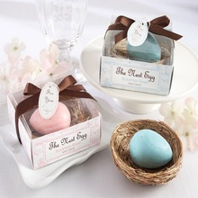100pcs/Lot+The Nest Egg Scented Egg Soap in Nest Baby Shower Favors Baby Soap Eco-Friendly Beauty Soap Favor+FREE SHIPPING(China)