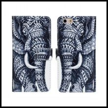 For iPhone 6s Cases Carton Print Stand Wallet Leather Cover for iPhone 6 Case 4.7 inch Mobile Phone Bags for iphone 6s Cases(China)
