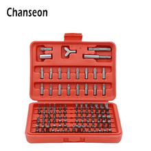 100pcs/set Screwdriver Hex Phillips Slotted Tri Wing Star Screwdriver Bit for Phone Watch Laptops Tamper Proof Destornillador