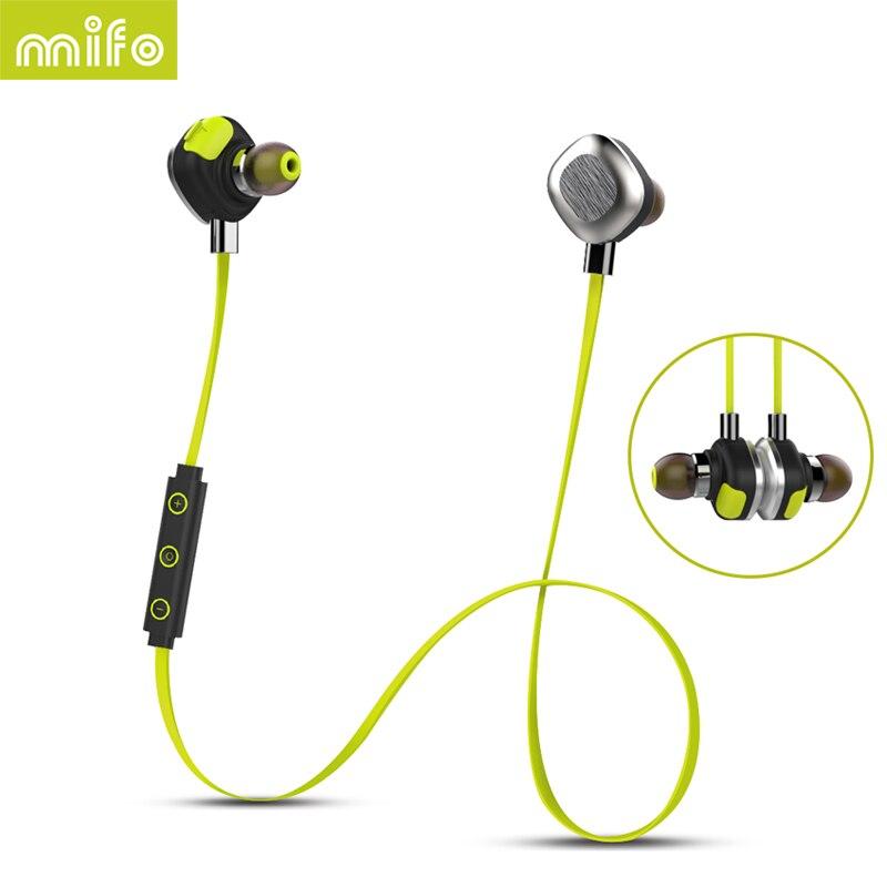 MIFO Sport Hifi Mini Cordless Wireless Blutooth Headphones Bluetooth Earphone For Phone iPhone In-ear Headset Auricular Earbud<br>