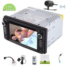 Camera included 2 Din Car Radio for for TOYOTA  Corolla in Dash Car GPS Navigation Car DVD Player 1080P Car PC Mirror Link/SWC