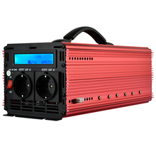 EnRise Power Inverter 3000W inverter DC 24V to AC 230V modified sine wave with LCD display