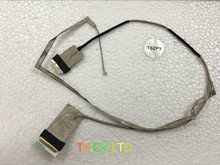 LVDS LED Cable Lenovo G580 G585 G580A G480 G485 laptop QIWG6 video screen LCD LVDS cable DC02001ET10 Genuine New Free Shipping(China)