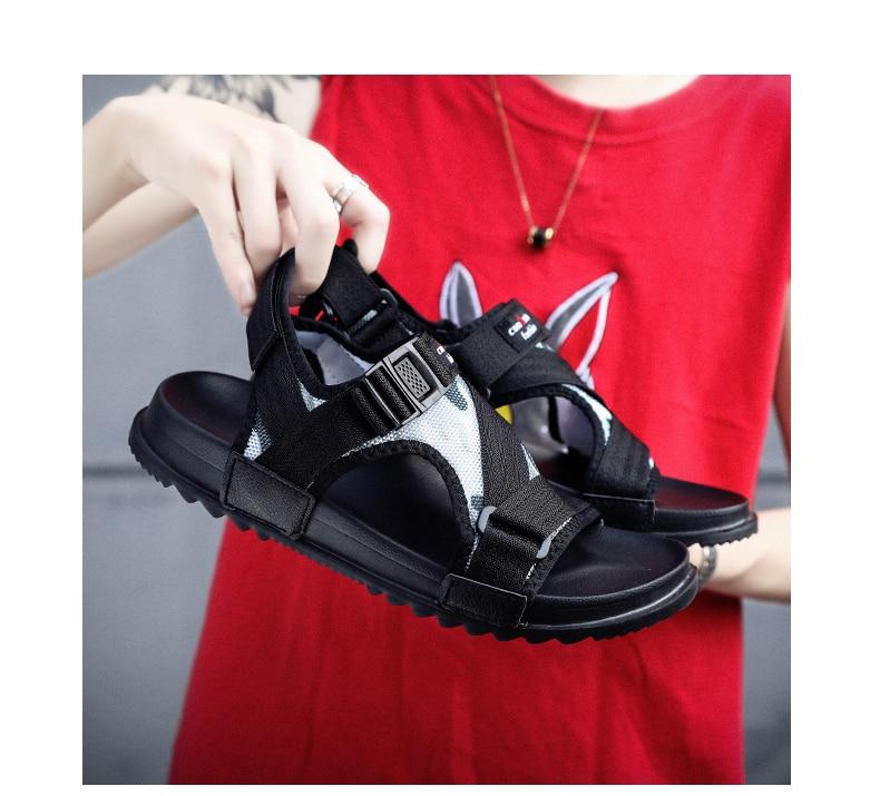 Slippers Men's Sandals Men's Summer Men's Sandals And Slippers Non-slip Beach Fashion Outdoor Wear Drag Trend 76 Online shopping Bangladesh
