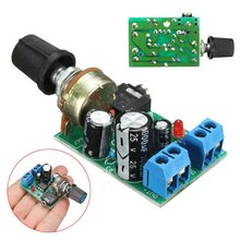 1PC LM386 Audio Power Amplifier Board DC 3V~12V 5v Mini AMP Module Adjustable volume Integrated Circuits(China)