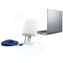 Universal Waterproof 150M USB Wireless Network Card WiFi Adapter Antenna + 5M Cable Long Range Outdoor IEEE Internet 802.11G/B/N