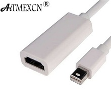 Aitmexcn Mini Display Port Displayport DP To HDMI Cable Adapter For Apple MacBook Air Pro Thunderbolt Cabo HDMI Adapter