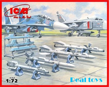 ICM model 72212 1/72 Soviet Air-to-Air Aircraft Armament plastic model kit(China)