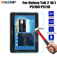 For Samsung Galaxy Tab 2 10.1 P5100 P5110 Tablet Explosion-Proof Utra-thin Premium 9H Hard Tempered Glass Screen Protective Film
