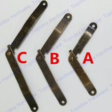 Furniture hinge Support hinge Wooden tripod support Antique Brass hinge support Gift Corner wooden support hinge