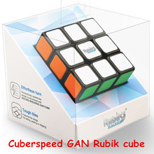 Gan Rubik's Speed Cube RSC 3x3x3 Magic cube GANS 356 AIR RUBIK CUBE BLACK BODY