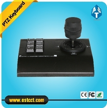 Low Cost Mini Keyboard Controller High Speed Dome Camera Keyboard 3D Joystick Analog PTZ Camera Keyboard Controller with RS485(China)