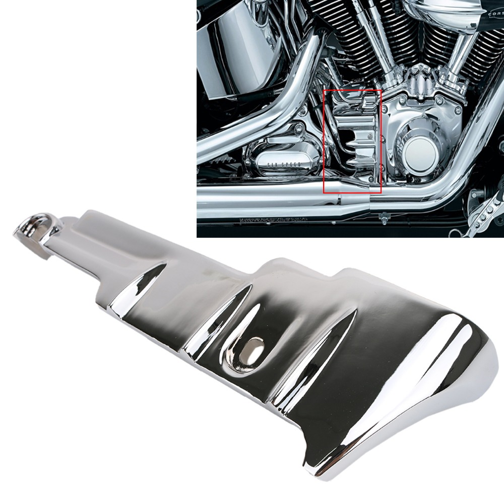 Chrome Motorcycle Rear Cylinder Base Cover For Harley Touring Electra Street Glide FLHX FLHT FLHR 2009-2016 #MBT004<br>
