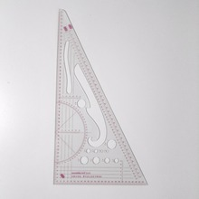 Clothes Multifunctional Proportion Rulers Clothing Sample Grading Ruler Triangle Scale Ruler Drawing Templater 8345  8514