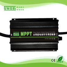 JNGE Brand High-End Type MPPT Solar Battery Charge Controller for Solar Electric Vehicle 48v/60v/72v auto Setting(China)