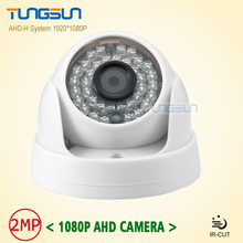 Buy New Home 2MP HD AHD 1080P Camera Security CCTV White Mini Dome 36LED infrared Night Vision Surveillance Camera AHD-H System for $29.88 in AliExpress store