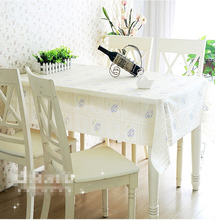 Quality PVC Tablecloth Dining Table Plastic Cover Coffee End Table Cloth Round Square Rectangular Waterproof Mat
