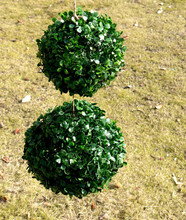 2pcs/lot High Quality Artificial Plants Simulation Flower Home Garden Wedding Decoration Milan Grass Ball Big Small Size WZ